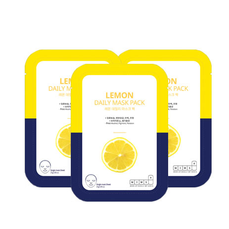 WIMS8 Lemon Daily Mask Pack